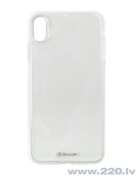 Tellur Cover Silicone for iPhone XS transparent