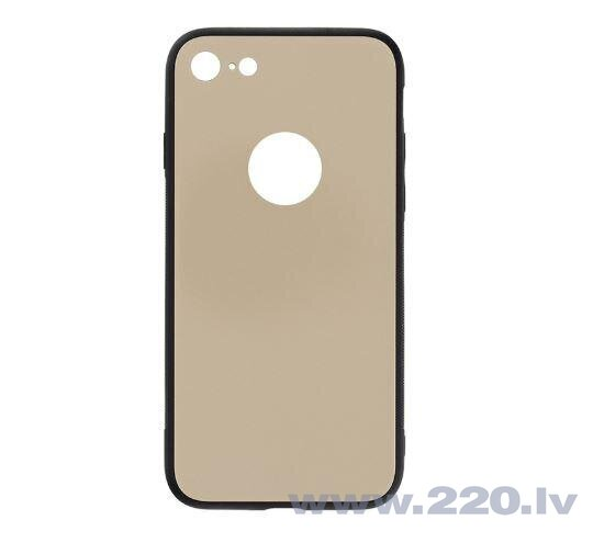 Tellur Cover Glass DUO for iPhone 8 gold