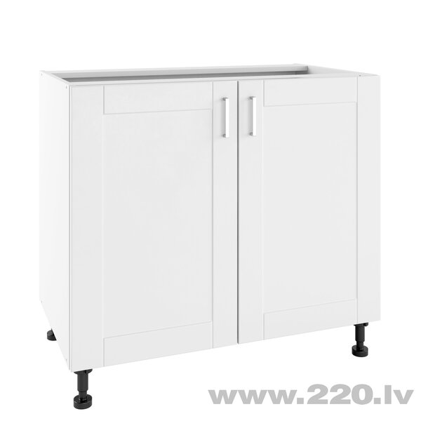 Virtuves skapītis Lupus Milano 2D 90 cm, balts