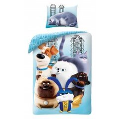 Bērnu gultas veļas komplekts Secret Life Of Pets, 2 daļas cena un informācija | Bērnu gultas veļas komplekts Secret Life Of Pets, 2 daļas | 220.lv