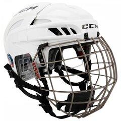 CCM Fitlite Hokeja Ķivere,Combo, Tumši zila cena un informācija | Hokejs | 220.lv
