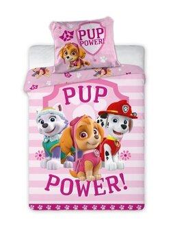 Bērnu gultasveļas komplekts Paw Patrol 100x135, 2 daļas cena un informācija | Bērnu gultas veļa | 220.lv