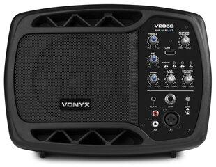 Vonyx V205B Akustiska sistēma ar BT/USB cena un informācija | Skaļruņi | 220.lv
