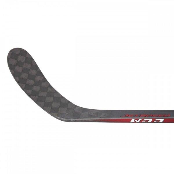 CCM Jetspeed PRO STOCK Sr. Kompozīta Hokeja Nūja, Labā puse, Flex-95, GRIP