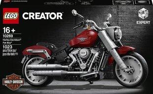 10269 LEGO® Creator Expert Harley-Davidson® Fat Boy® cena un informācija | 10269 LEGO® Creator Expert Harley-Davidson® Fat Boy® | 220.lv