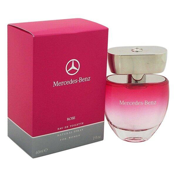 Туалетная вода Mercedes-Benz Rose EDT для женщин 60 мл цена