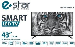eSTAR LEDTV43D2T2 цена и информация | Телевизоры | 220.lv
