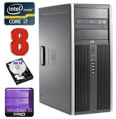 HP 8100 Elite MT i7-860 8GB 500GB NVS450 DVD WIN10Pro