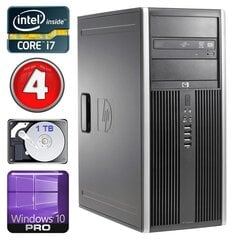 HP 8100 Elite MT i7-860 4GB 1TB NVS450 DVD WIN10Pro cena un informācija | HP 8100 Elite MT i7-860 4GB 1TB NVS450 DVD WIN10Pro | 220.lv