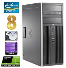 HP 8100 Elite MT i7-860 8GB 1TB GTX1650 4GB DVD WIN10Pro cena un informācija | HP 8100 Elite MT i7-860 8GB 1TB GTX1650 4GB DVD WIN10Pro | 220.lv