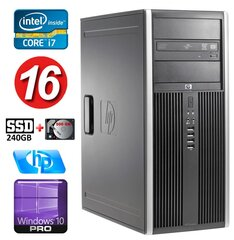 HP 8100 Elite MT i7-860 16GB 240SSD+500GB NVS450 DVD WIN10Pro cena un informācija | HP 8100 Elite MT i7-860 16GB 240SSD+500GB NVS450 DVD WIN10Pro | 220.lv