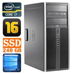 HP 8100 Elite MT i7-860 16GB 240SSD NVS450 DVD WIN10 cena un informācija | HP 8100 Elite MT i7-860 16GB 240SSD NVS450 DVD WIN10 | 220.lv