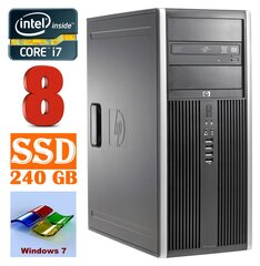 HP 8100 Elite MT i7-860 8GB 240SSD NVS450 DVD WIN7Pro cena un informācija | HP 8100 Elite MT i7-860 8GB 240SSD NVS450 DVD WIN7Pro | 220.lv