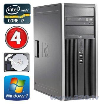 HP 8100 Elite MT i7-860 4GB 250GB NVS450 DVD WIN7Pro