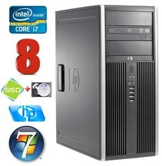 HP 8100 Elite MT i7-860 8GB 120SSD+2TB NVS450 DVD WIN7Pro cena un informācija | HP 8100 Elite MT i7-860 8GB 120SSD+2TB NVS450 DVD WIN7Pro | 220.lv
