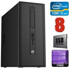 HP 800 G1 MT I5-4670T 8GB 120SSD WIN10Pro