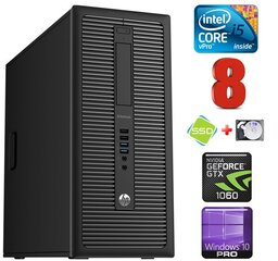 HP 800 G1 MT I5-4670T 8GB 120SSD+1TB GTX1060 6GB WIN10Pro