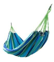 Divvietīgs šūpuļtīkls, 160x200 cm, zils cena un informācija | Šūpuļtīkli | 220.lv