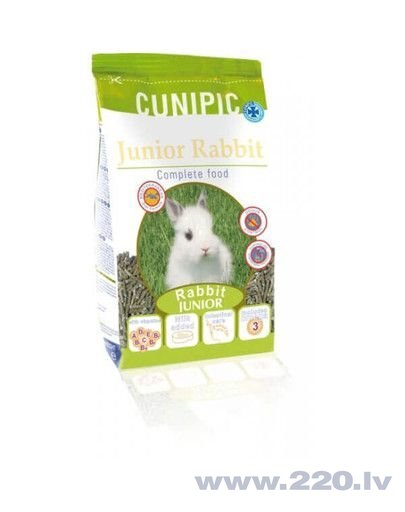 Cunipic barība Junior Rabbit, 3 kg