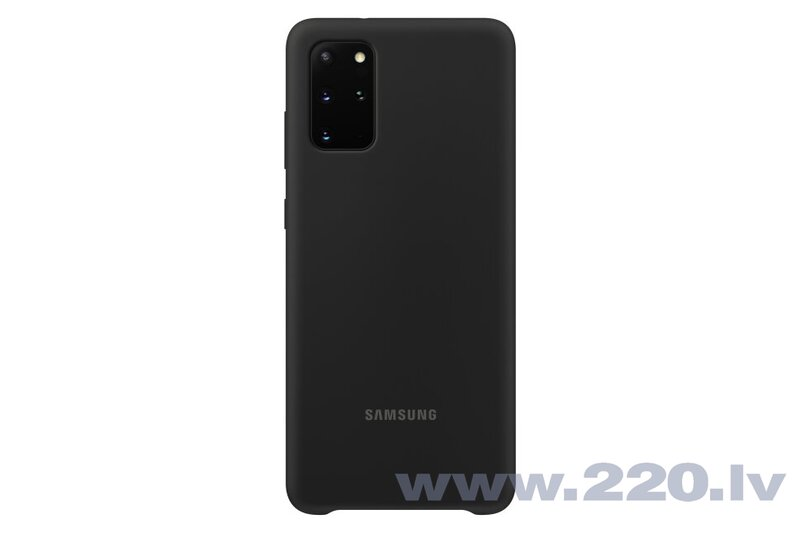 Samsung Silicone Cover Flexible Gel Case for Samsung Galaxy S20 Plus black (EF-PG985TBEGEU)