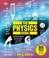 Physics Book : Big Ideas Simply Explained, The цена и информация | Physics Book : Big Ideas Simply Explained, The | 220.lv