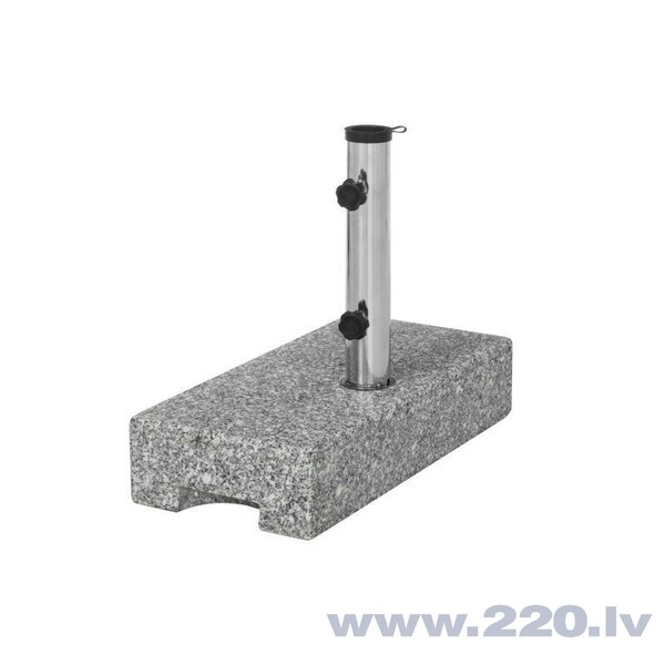 Lietussarga pamatne 4living Natural Granite, pelēka
