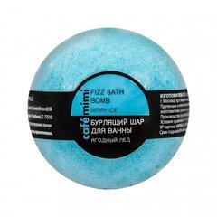 Šķīstoša, smaržīga vannas bumba Cafė Mimi Ogu saldējums, 120 g cena un informācija | Dušas želejas, eļļas | 220.lv