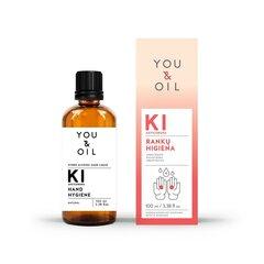 You&Oil dezinfekcijas šķidrums rokām, 100 ml cena un informācija | Pirmā palīdzība | 220.lv