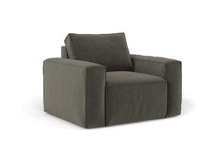 Krēsls Cosmopolitan Design Florida, tumši pelēks cena un informācija | Atpūtas krēsli | 220.lv