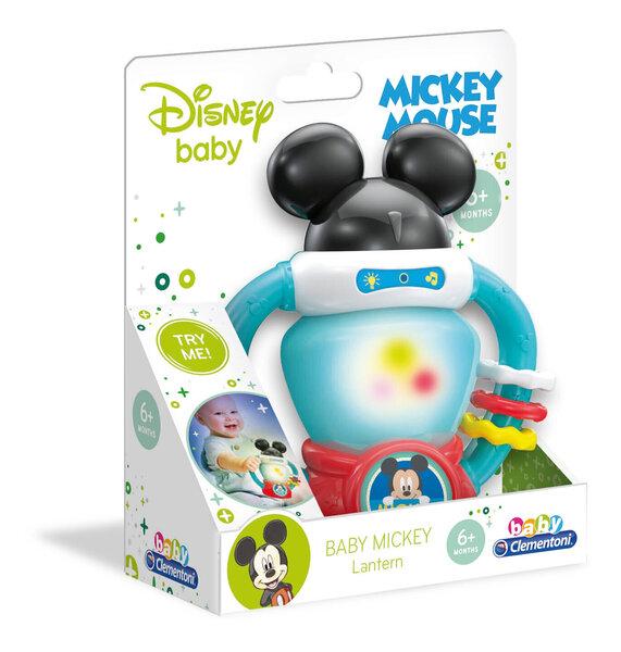 Clementoni Baby interaktīvais lukturītis Baby Mickey Mouse cena
