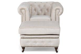 Chesterfield krēsls VG2177 cena un informācija | Krēsli viesistabai | 220.lv