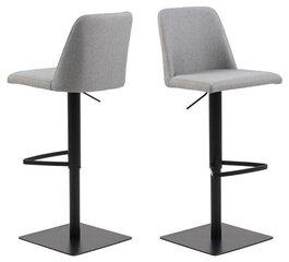 Bāra krēsls Actona Avanja, pelēks cena un informācija | Virtuves un ēdamistabas krēsli | 220.lv