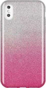 Wozinsky Glitter Case Shining Cover for iPhone XS Max pink (Pink) cena un informācija | Maciņi, somiņas | 220.lv
