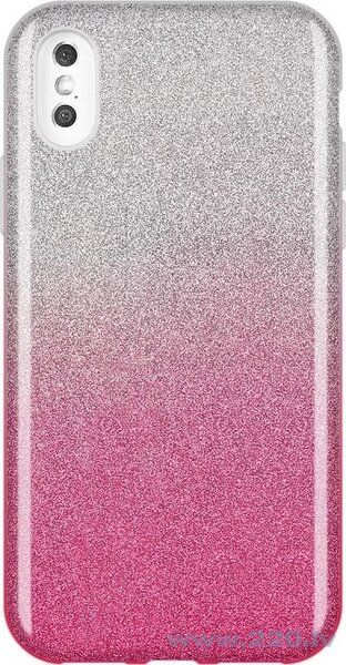 Wozinsky Glitter Case Shining Cover for iPhone XS Max pink (Pink)