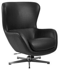 Krēsls Actona Porto, melns cena un informācija | Atpūtas krēsli | 220.lv