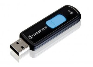USB карта памяти Transcend Jetflash 500 8GB USB 2.0