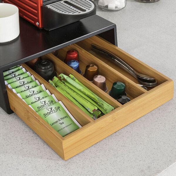 Virtuves skapītis SoBuy FRG280-SCH, melns/brūns lētāk