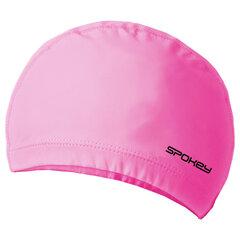 Peldēšanās cepure Spokey Torpedo, rozā cena un informācija | Peldcepures | 220.lv