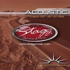 Струны для акустической гитары Stagg AC-1356-PH .013 - .056 цена и информация | Музыкальные инструменты и принадлежности | 220.lv