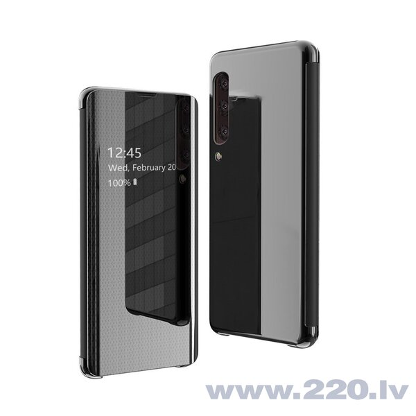 Flip View cover for Samsung Galaxy A70 black (Black)