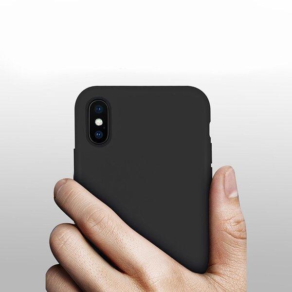 Silicone Case Soft Flexible Rubber Cover for iPhone 11 Pro blue (Blue) lētāk
