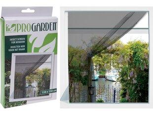 Progarden aizsargājošs tīkliņš logiem pret kukaiņiem, 130x150 cm cena un informācija | Moskītu tīkli | 220.lv