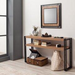 Konsole Kalune Design Cosmo Dresuar, brūna/melna cena un informācija | Konsoles galdiņi | 220.lv
