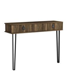 Konsole Kalune Design Lost, brūna cena un informācija | Konsoles galdiņi | 220.lv