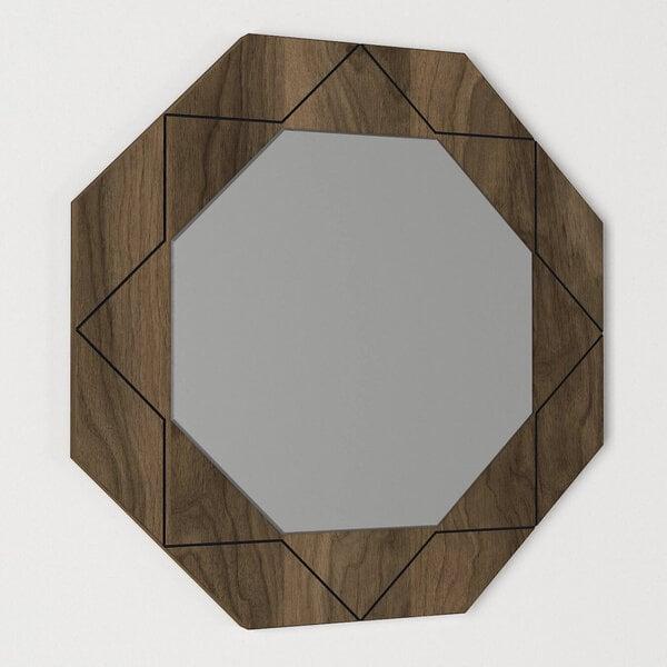Spogulis Kalune Design Pablo, brūns cena