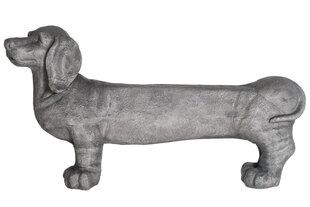 Suņa formas soliņš 4living, pelēks cena un informācija | Dārza soli | 220.lv