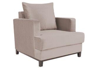 Krēsls Melart Frederic, smilškrāsas cena un informācija | Krēsli viesistabai | 220.lv