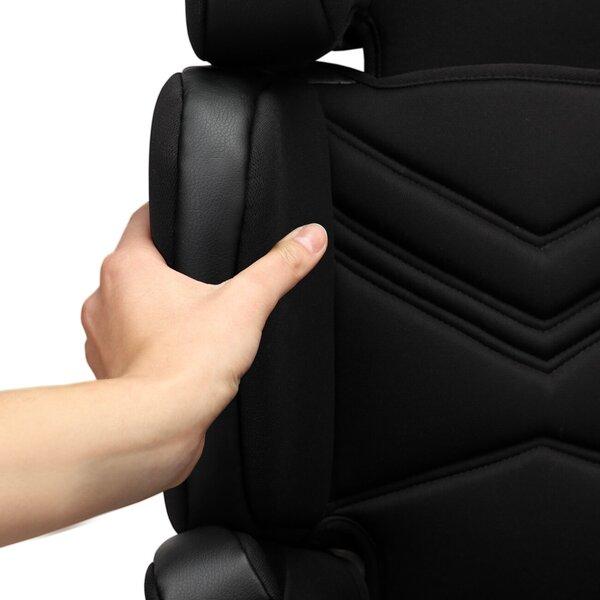 Autokrēsliņš Lionelo Hugo 15-36 kg, leather black