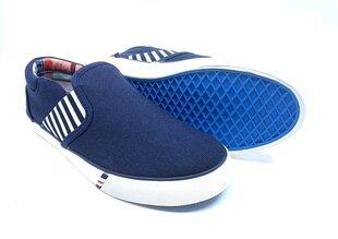 Wrangler apavi bērniem ICON SLIP ON JR zili cena un informācija | Wrangler apavi bērniem ICON SLIP ON JR zili | 220.lv