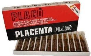 Placentas ampulas matu augšanas veicināšanai Placenta Placo, 12x10ml cena un informācija | Matu uzlabošanai | 220.lv